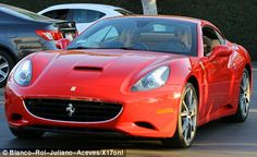 Paris Hilton Ferrari