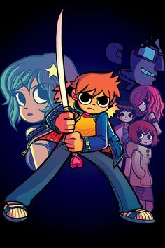 Scott Pilgrim by Bryan Lee O'Malley