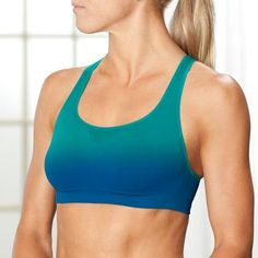 Athleta Tempo Seamless Dip Dye Bra Top in  from Athleta on shop.CatalogSpree.com, your personal digital mall.