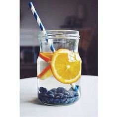 Blueberry + Orange