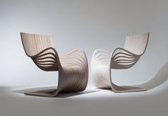 PIPO Chair courbes et volupté par Piegatto #design #pin_it @mundodascasas Veja mais aqui(See more here) www.mundodascasas.com.br