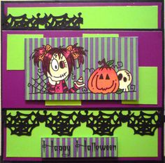 Crafting on the Cheap: A Bugaboo Halloween Card