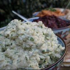 Raw Creamy Cashew Dip @ allrecipes.com.au