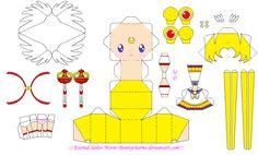Eternal Sailor Moon Papercraft Template by bunnycharms on DeviantArt