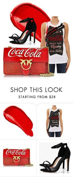 """""""coca cola pinko style"""" by vanya-rosario-guidi ❤ liked on Polyvore featuring Burberry, Pinko and Boohoo"""