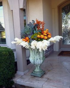 Fall Containers traditional-landscape