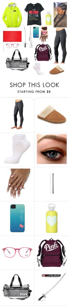 """Winter Guard: After School"" by divinemaboundou ❤ liked on Polyvore featuring lululemon, Minnetonka, Dorothy Perkins, Case-Mate, bkr, Ray-Ban and RIFLE"