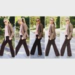 It's after Labor Day, I'm diving into fall fashion! Loving these 3 pieces - blazer, blouse and trousers - from Chadwicks of Boston! #fashion #style