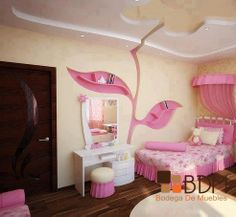 Rec maras infantiles on pinterest ideas para luxury and - Recamaras infantiles para nina ...