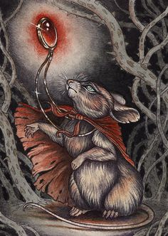 Courage of the Heart (Mrs. Brisby from The Secret of NIMH) by Caitlin Hackett