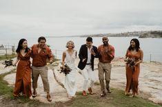 Three Blue Ducks Wedding   Johan & Dasha — Kelly Jury Fist Pump, Dance Sing, Mini One, Bus Ride, Start The Day, Tea Ceremony, Bridesmaid Dresses, Wedding Dresses, Ducks
