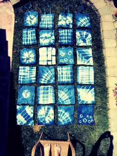 Fun tie dye designs with instructions on how to do them
