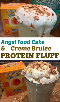 Protein Fluff - only 100 calories and no sugar!
