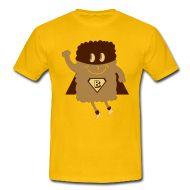 23,40 € . Camisetas ~ Hombres camiseta clásica ~ Camiseta Hombre, Super Helado, comprar