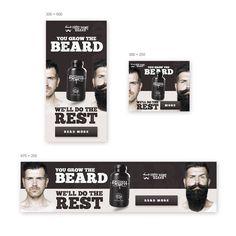 Create banner ads for our beard company by Igor Vensko