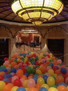 Balloon drop net diy sweepstakes