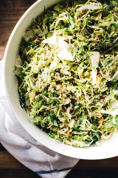Sharing my favorite salad of all-time today with you: shaved brussels sprouts with luscious pecorino, bacon, bing cherries, and toasty almonds. A perfect balance of crunchy, salty, and sweet that has converted every brussels sprouts hater I've served. I recommend serving with the Jackson Estate Camelot Chardonnay (my favorite from Kendall-Jackson!).