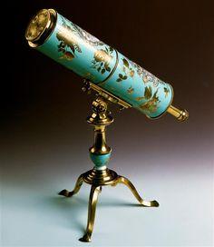 Johann Gottlob Rudolph: Reflecting telescope, Meissen, 1750.