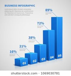 Illustration about Statistics business graph bar chart. Vector infographic with steps and options. Chart and graph, web data report and presentation illustration. Illustration of modern, number, graph - 115043792 Diagram Design, Graph Design, Chart Design, Bar Graphs, Charts And Graphs, Pie Charts, Business Card Mock Up, Data Visualization, Graphic Design Inspiration