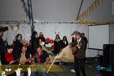Celebración de los logros 2012 con los grupos representativos de Bienestar Universitario.