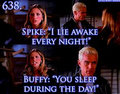Buffy will not take his hyperbole.