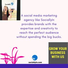 Social Media Agency - The Best Marketing & Advertising Solutions Social Media Marketing Agency, Influencer Marketing, Marketing And Advertising, Build Your Brand, Growing Your Business, Get Started, Budgeting, Encouragement, Creativity