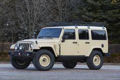 Jeep Wrangler Africa Concept  - RoadandTrack.com