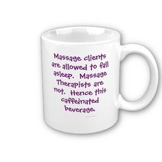 http://www.zazzle.com/tigerlilystudios* #massage #coffee