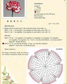 Crochet Flower Patterns Мобильный LiveInternet Альбом «The Book of Crochet Flowers Bouquet Crochet, Crochet Puff Flower, Crochet Flower Tutorial, Crochet Diy, Crochet Motifs, Knitted Flowers, Crochet Flower Patterns, Crochet Diagram, Crochet Books