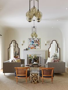 Step Inside a Modern, Eclectic Mediterranean Home in Los Angeles Photos | Architectural Digest