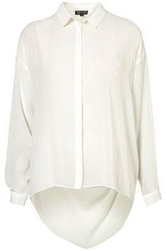 Topshop White Blouse