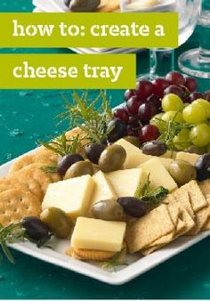 How To: Create a Cheese Tray – Here you can find tips and tricks to creating a simple cheese & cracker appetizer tray. Learn how to make the perfect appetizer for basketball games!