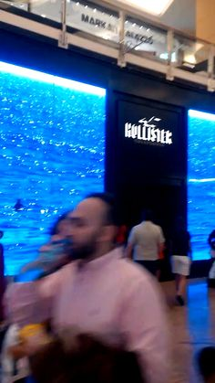 Hollister store Mall of the Emirates