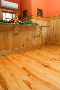 Australian Cypress Hardwood Flooring more views Random Width Australian Cypress The Homeowner Wanted Some Heartwood In The Maple Floor As Well As Tiger Maple Grain