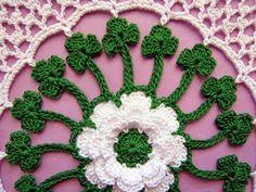 BellaCrochet: Irish Blessings Doily: A Free Crochet Pattern For You