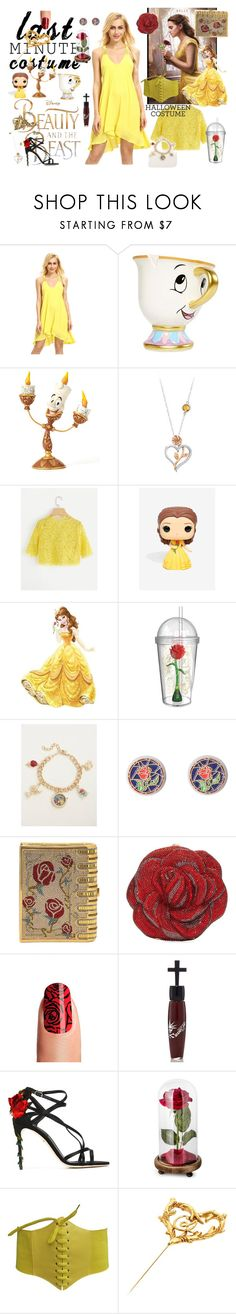 """Clock's Ticking: Last-Minute Halloween Costumes"" by kayce35 ❤ liked on Polyvore featuring Disney, Jim Shore, York Wallcoverings, ZAK, Torrid, Judith Leiber, Manic Panic NYC, Dolce&Gabbana and lastminutecostume"