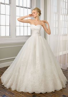 ball gown wedding dress, wedding dress, white dress
