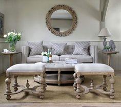 Grovenor Footstool – La Residence Interiors