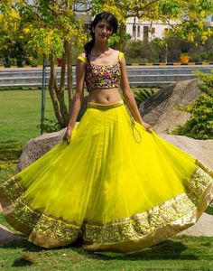8 types of Lehengas to Flare your Ethnic Look - LooksGud.in