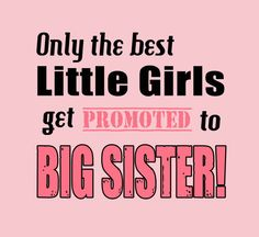 Big Sister Shirt Sibling One Piece New Sister Tee Girls Promotion Shirt Sleeve 2T 3T 4T Cotton  6 12 18 24 Month New Baby Little Girl on Etsy, $13.99