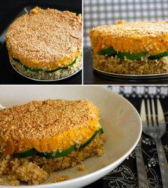 Le pâté de Julie : quinoa, légumes, lentilles