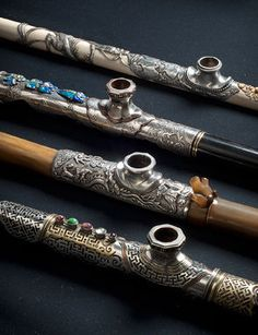 Chinese Opium Pipe. 19th Century