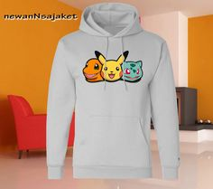 Pokemon character X and Y available for Hoodie by newannsajaket, $30.00