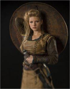 Lagertha, Vikings (2013)  Looks very Viking
