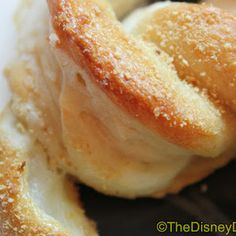 Disney World Soft Pretzels with Cream Cheese Filling