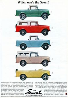 International Scout Ad-March 1964