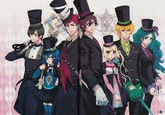 ♥ Anime manga karneval beautiful nai gareki yogi hirato tsukumo LOWLY eva jiki kichi tsukitachi