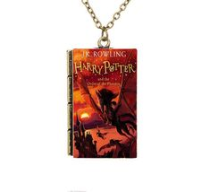 Check it out Potter Heads! Miniature Harry Potter and the Order of Phoenix TINY Red Book Pendant Necklace Harry Potter Book Covers, Harry Potter World, Harry Potter Memes, Harry Potter Necklace, Hogwarts, Slytherin, Red Books, Necklace Price, Mischief Managed