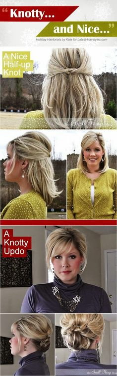 MODE THE WORLD: Make a Amazing Knotty Up do