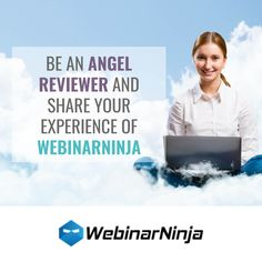 WebinarNinja claim to do all the work for you. No more going through a long-winded, 10-step process. With WebinarNinja, you can create your webinar in seconds, get on with your day and start getting sign-ups for your webinar immediately. Is WebinarNinja something you've used? If so, we'd love to read your review on Angel Rated. #angelrated #review #reviews #webinarninja #webinars #webconferencing Business Products, Online Business, Business Mission, Web Conferencing, What Is Work, Life Purpose, Personal Development, Online Marketing, Online Courses